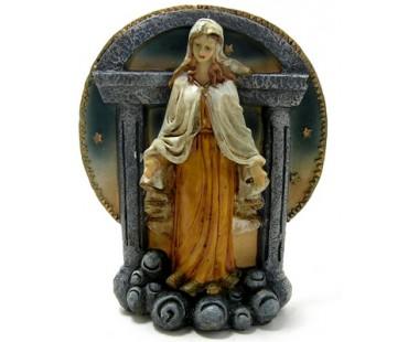 Krippe, Blockkrippe - Heilige Maria