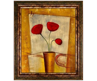 Ölgemälde- Blumen-6119 - 50x60cm