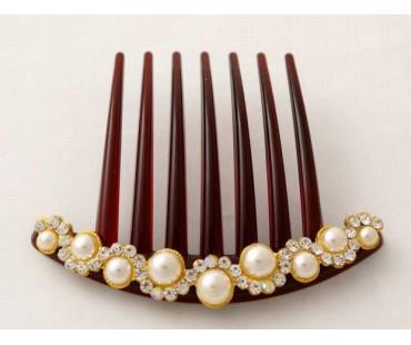 Haarkamm - Perle