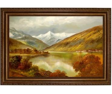Zell-am-See_40x60cm- handgemaltes Ölbild