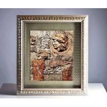 Reliefbild - Gladiator aus dem alten Rom