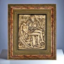 Reliefbild - Pieta