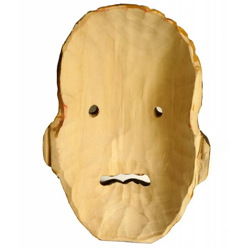 perchtenmaske fasnacht maske kindermaske krampusmaske wandmaske aus holz. Black Bedroom Furniture Sets. Home Design Ideas