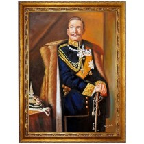 Flandrin Hippolyte Jean Junger Mann  - handgemaltes Ölbild in 50x60cm